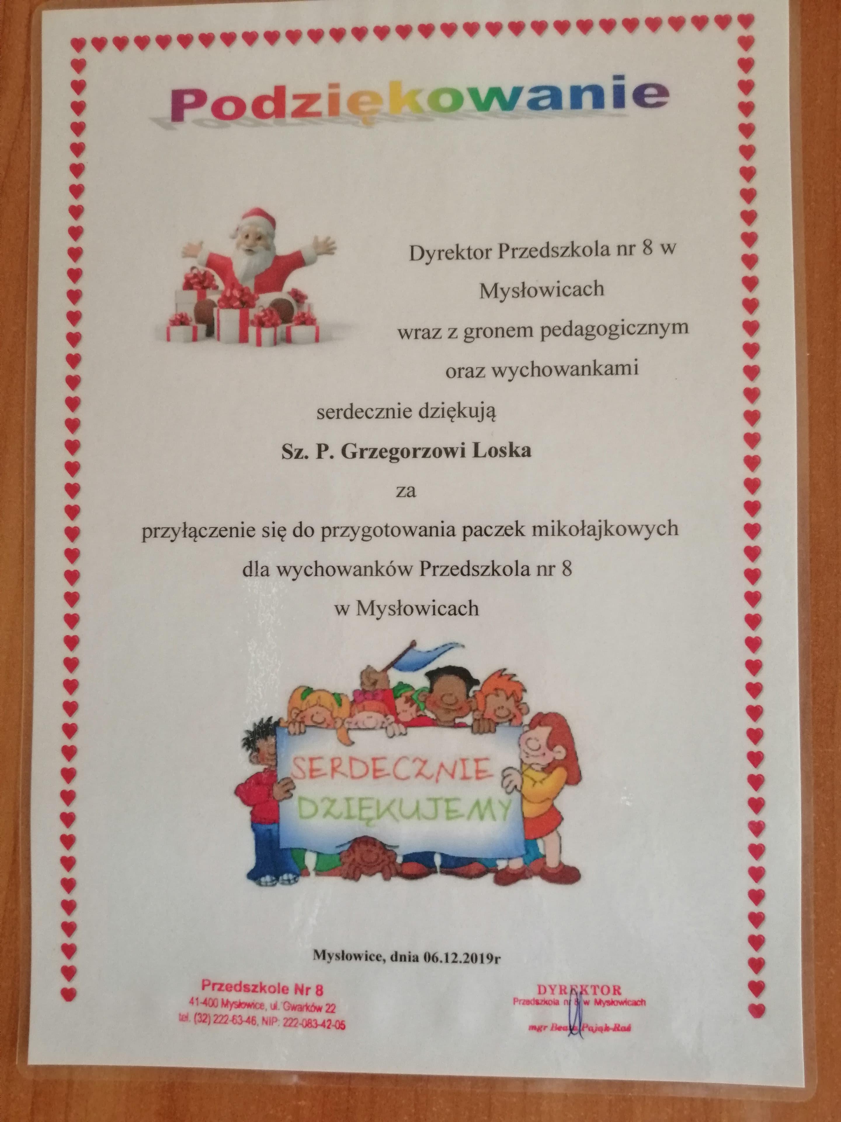 Przedszkole Nr 8 W Mysłowicach