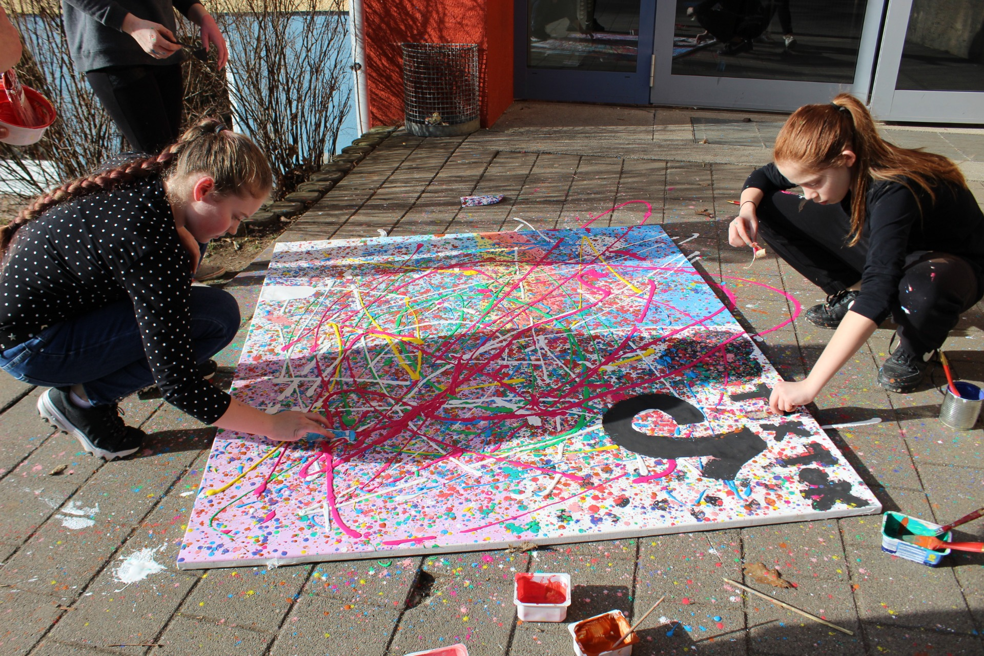 Action-Painting - Bild 4