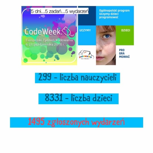 Europe Code Week 2018 - Obrazek 1