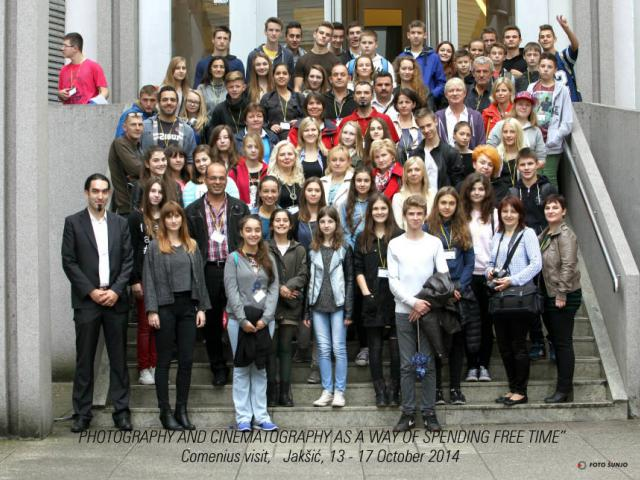 Projekt Comenius - Croatia