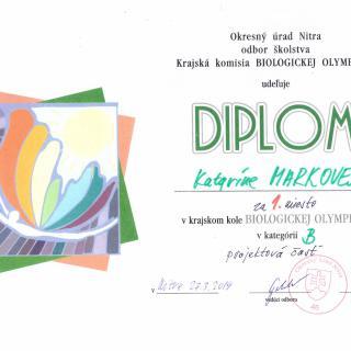 b1c11985458f Krajské kolo Biologickej olympiády kategória B